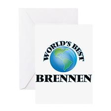 World's Best Brennen Greeting Cards