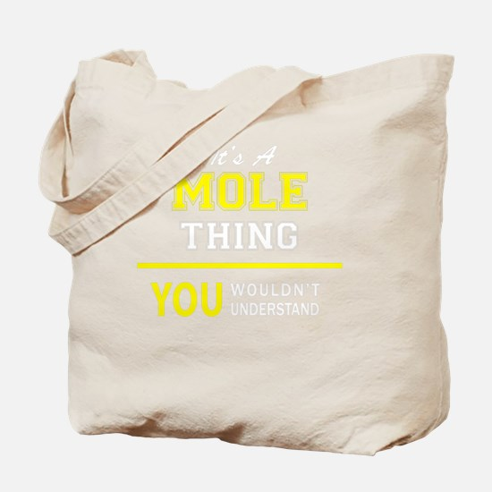 Cute Mole Tote Bag