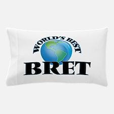 World's Best Bret Pillow Case