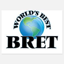 World's Best Bret Invitations