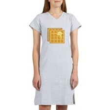 Buttered Waffles Women's Nightshirt