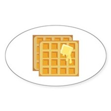 Buttered Waffles Decal