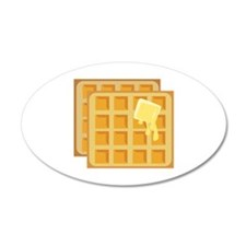 Buttered Waffles Wall Decal