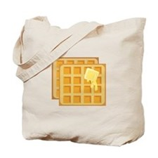 Buttered Waffles Tote Bag