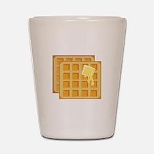 Buttered Waffles Shot Glass