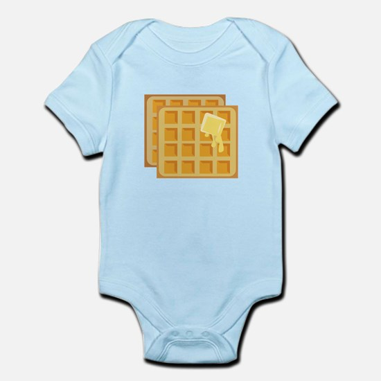 Buttered Waffles Body Suit