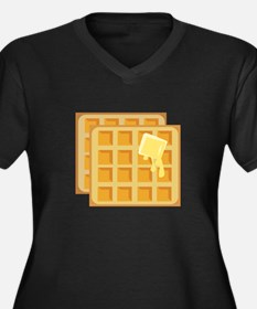 Buttered Waffles Plus Size T-Shirt