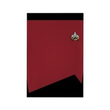 TNG Red Uniform Rectangle Magnet (10 pack)