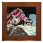 Billy & Benny Framed Tile Version 2