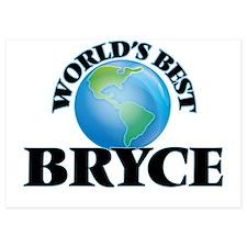 World's Best Bryce Invitations