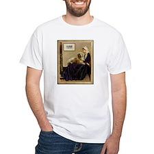 Whistler's Mother & Golden Retriever Shirt