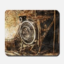 Antique Old Photo Camera Mousepad