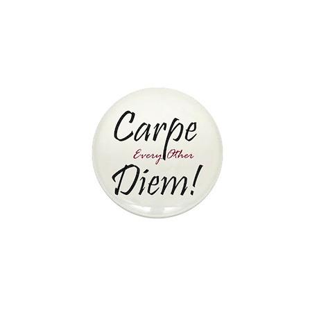 Carpe Every Other Diem Mini Button (100 pack)