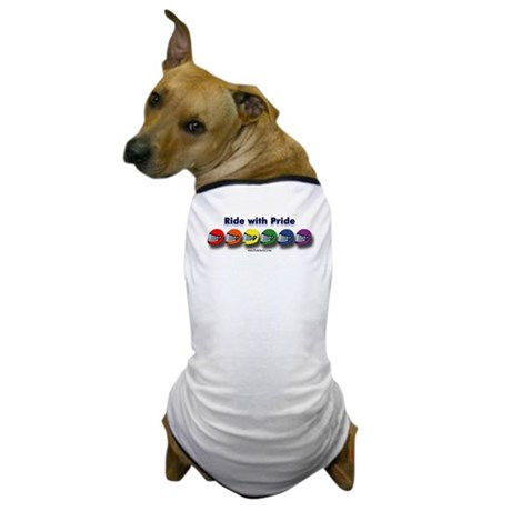 Ride with Pride Dog T-Shirt