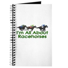 I'm All About Racehorses Journal