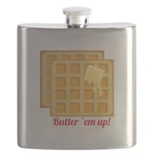 Butter Em Up Flask