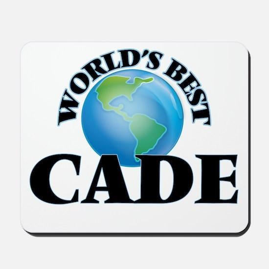 World's Best Cade Mousepad