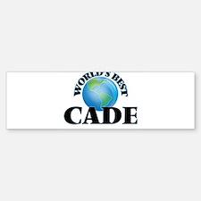 World's Best Cade Bumper Bumper Bumper Sticker