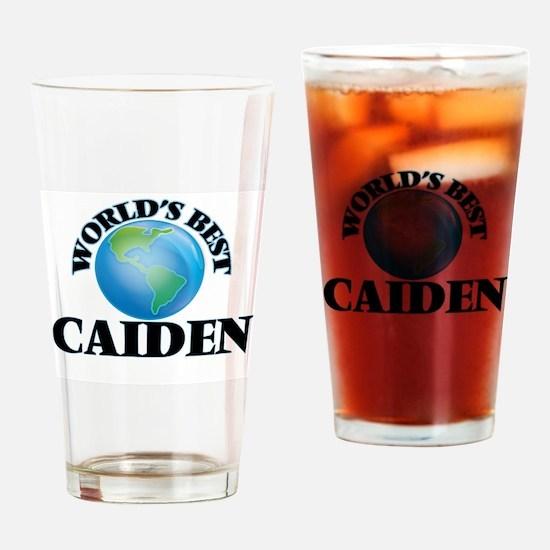 World's Best Caiden Drinking Glass
