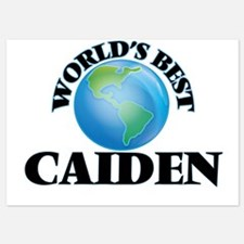 World's Best Caiden Invitations