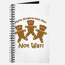 Gingerbread Men Not War Journal