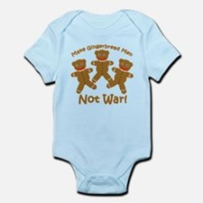 Gingerbread Men Not War Infant Bodysuit