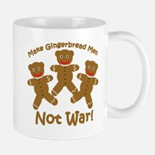 Gingerbread Men Not War Mug