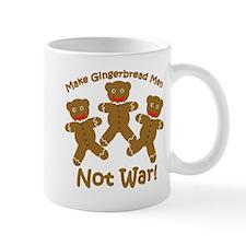 Gingerbread Men Not War Mug