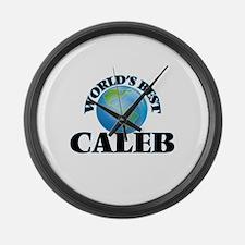 World's Best Caleb Large Wall Clock