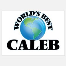 World's Best Caleb Invitations