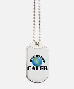 World's Best Caleb Dog Tags