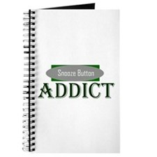 Snooze Button Addict Journal