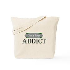 Snooze Button Addict Tote Bag