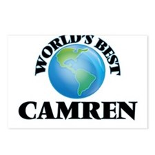 World's Best Camren Postcards (Package of 8)