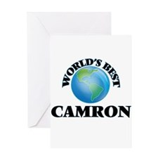 World's Best Camron Greeting Cards