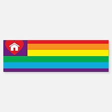 Pride Family Flag Bumper Bumper Bumper Sticker