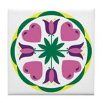Love and Happy Home Tile Coaster