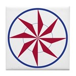 Whirling Star Tile Coaster