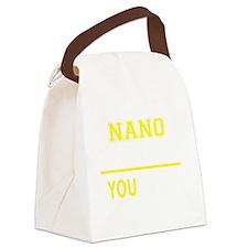 Cute Nano Canvas Lunch Bag