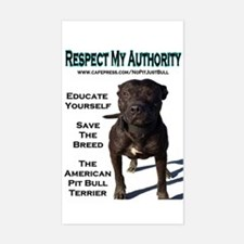 """Respect"" Sticker (Rect.)"