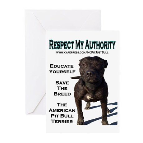 """""""Respect"""" Greeting Cards (6)"""