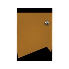 TNG Gold Uniform Rectangle Magnet (10 pack)