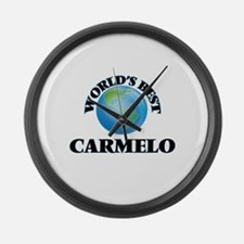 World's Best Carmelo Large Wall Clock