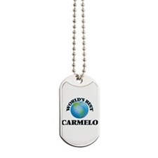 World's Best Carmelo Dog Tags