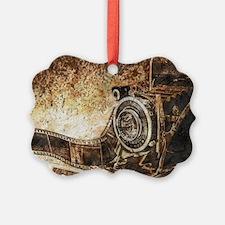 Antique Old Photo Camera Ornament