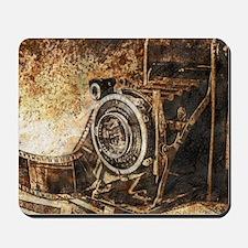 Antique Old Photo Camera Mousepad