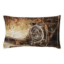 Antique Old Photo Camera Pillow Case