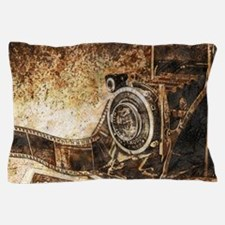 Antique Old Photo Camera Pillow Case