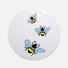 Bumble Bees Ornament (Round)