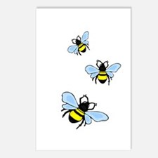 Bumble Bees Postcards (Package of 8)